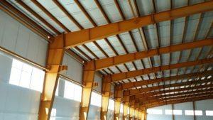 تصویر نصب ساندویچ پانل شرکت طلا پروفیل 18
