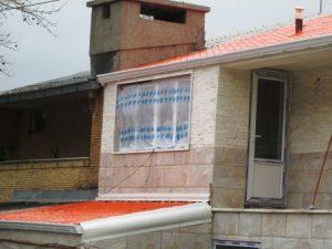 تصویر پوشش سقف ویلایی خانه دکتر لطفی 4