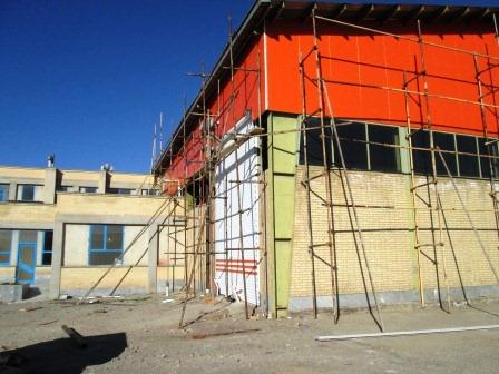 تصویر ساخت کارخانه آریا سپهر کیهان 39