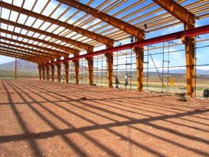 تصویر نصب ساندویچ پانل شرکت طلا پروفیل 220