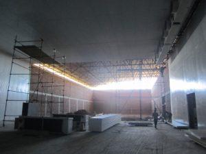 تصویر نصب ساندویچ پانل سردخانه 20000 تنی 38
