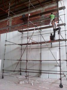 تصویر نصب ساندویچ پانل سردخانه 20000 تنی 2