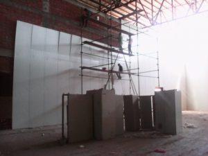تصویر نصب ساندویچ پانل سردخانه 20000 تنی 7