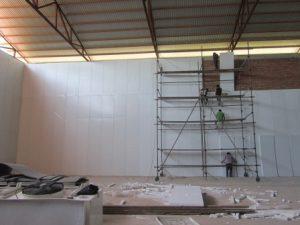 تصویر نصب ساندویچ پانل سردخانه 20000 تنی 21
