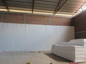 تصویر نصب ساندویچ پانل سردخانه 20000 تنی 11