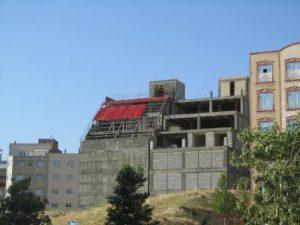 تصویر پوشش ساندویچ پانل ساختمان مسکونی 2