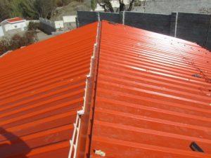 تصویر ساخت سقف ویلایی با ساندویچ پانل پلی یورتان 1