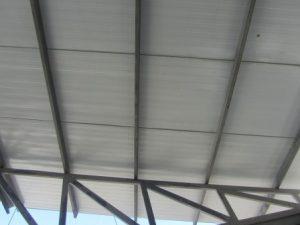 تصویر ساخت سقف ویلایی با ساندویچ پانل پلی یورتان 4