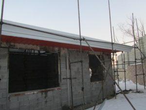 تصویر ساخت سقف ویلایی با ساندویچ پانل پلی یورتان 11