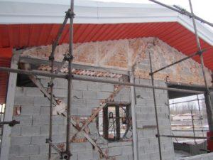 تصویر ساخت سقف ویلایی با ساندویچ پانل پلی یورتان 12