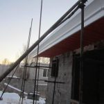 تصویر ساخت سقف ویلایی با ساندویچ پانل پلی یورتان 13