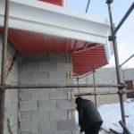 تصویر ساخت سقف ویلایی با ساندویچ پانل پلی یورتان 17