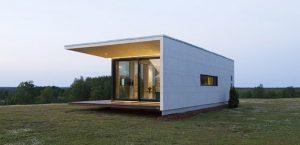 ساخت ویلا و خانه با ساندویچ پانل