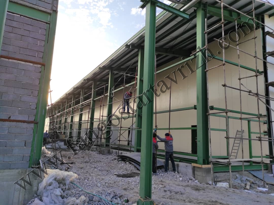پروژه شرکت پلی نار (پترشیمی تبریز)